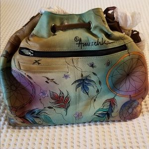 Anuschka Drawstring Purse